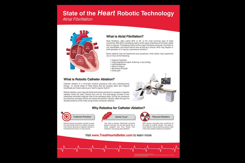 A-Fib Robotic Ablation Poster