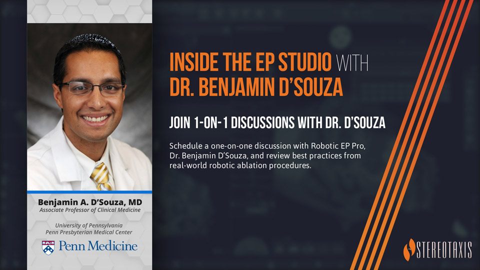 Inside the EP Studio with Dr Ben DSouza Promotional Image