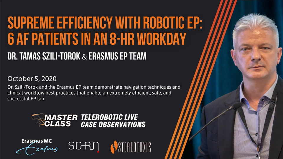 Master Class Supreme Efficiency with Robotic EP Poster