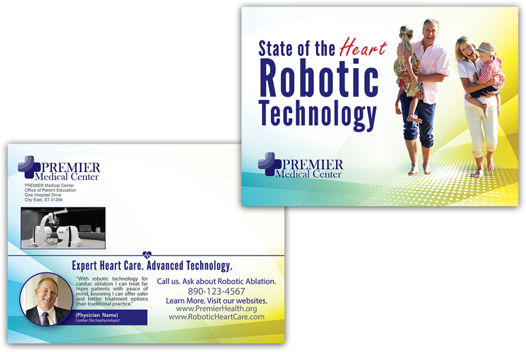 State of the Heart Robotic Technology Prism Postcard