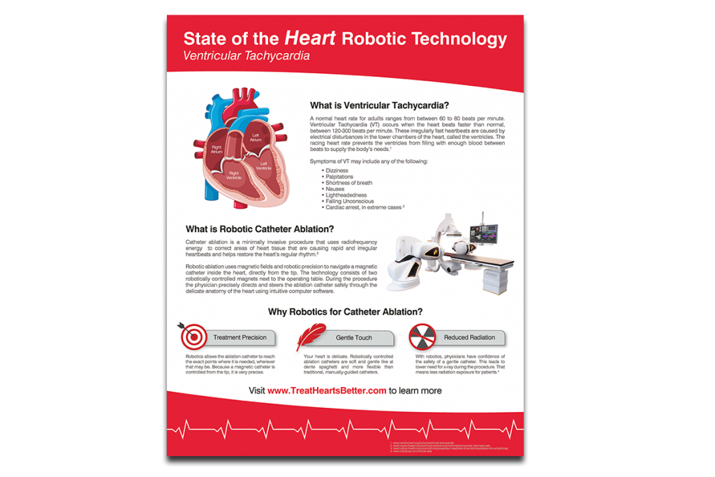 VT Robotic Ablation Poster
