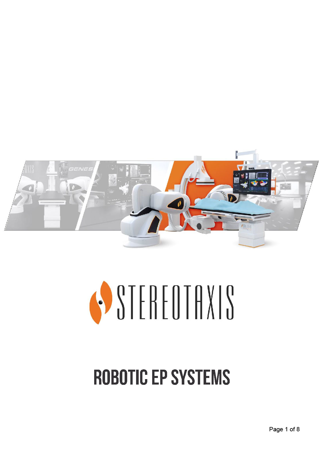 Stereotaxis Capital Brochure Poster